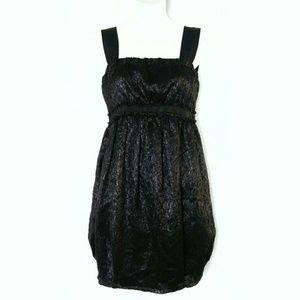 Missoni Black Babydoll jacquard dress sz. SP